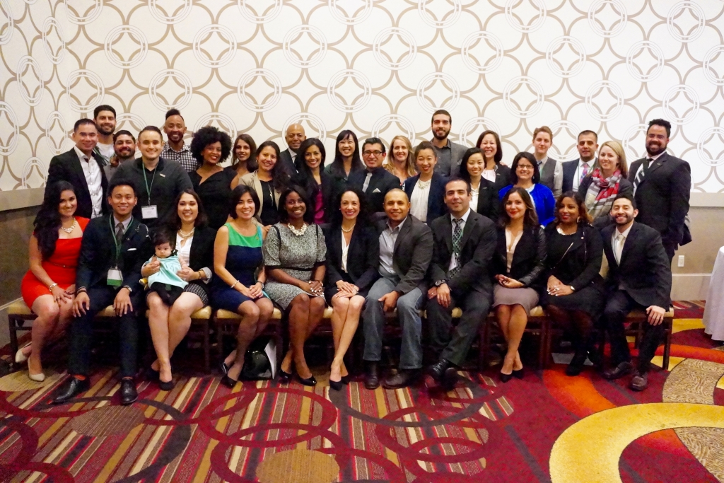 Greenlining Academy Alumni at 2015 Economic Summit