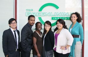 HEF Fellows (Left to Right): George Chacon, Sadad Ali, Jamilah Bradshaw, Kristine Lee, Adriana Diaz-Ordaz, Jessica Dunn