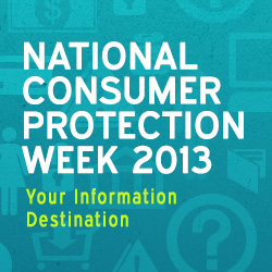 Did You Know? It's National Consumer Protection Week!