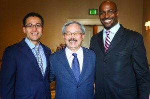 Orson Aguilar Mayor Ed Lee Van Jones