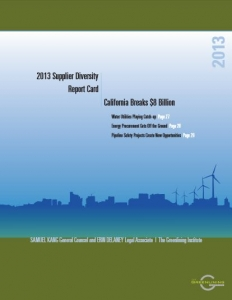2013 Supplier Diversity Reprot Card: CA Breaks $8 Billion