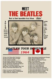 Beatles 1964 tour