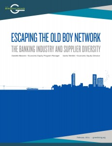 Escaping the Old Boy Network - The Banking Industry and Supplier Diversity