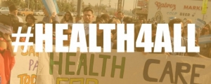 Help Us Push for #Health4All TODAY!