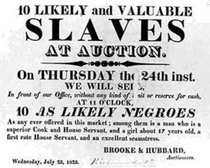 Slaves for sale poster