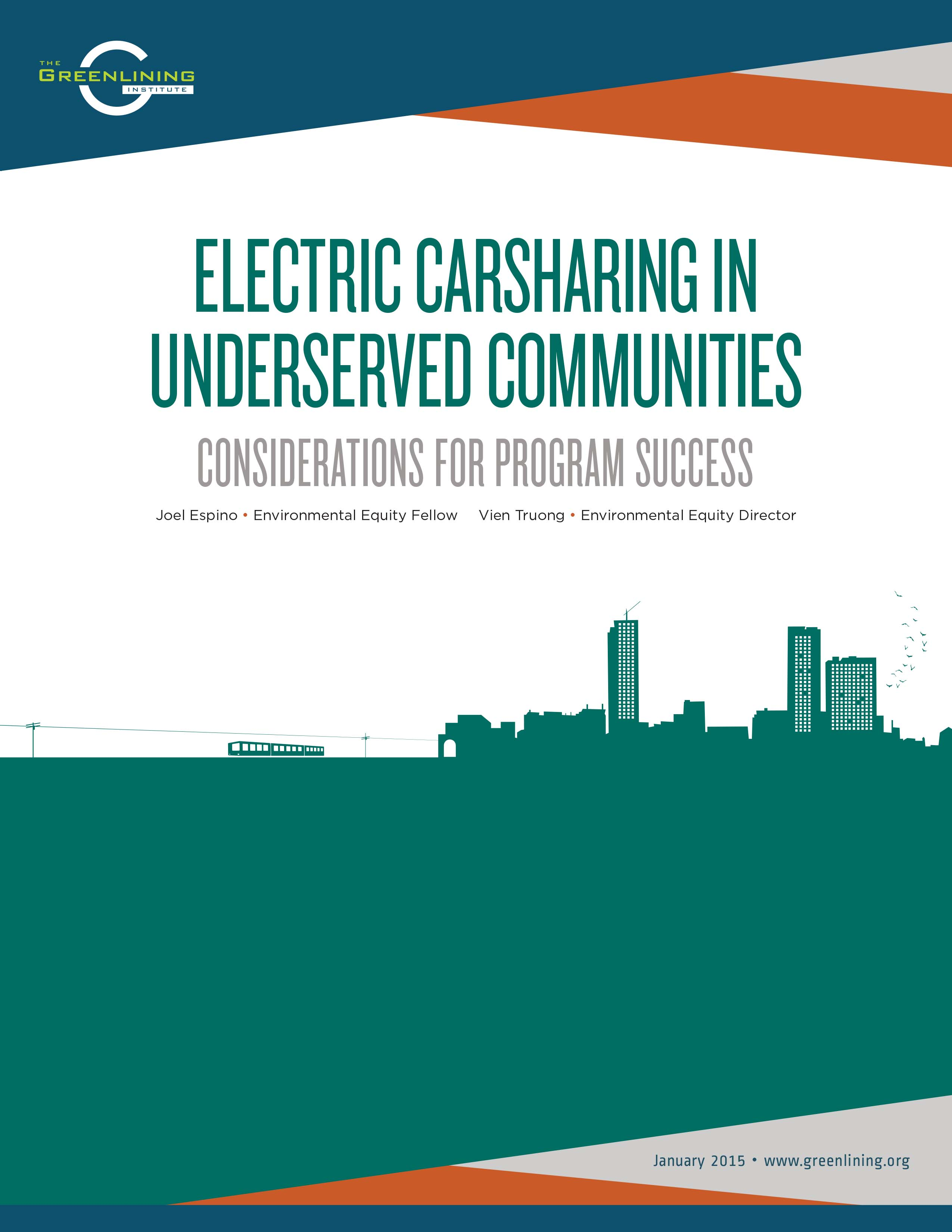 Electric Carsharing in Underserved Communities