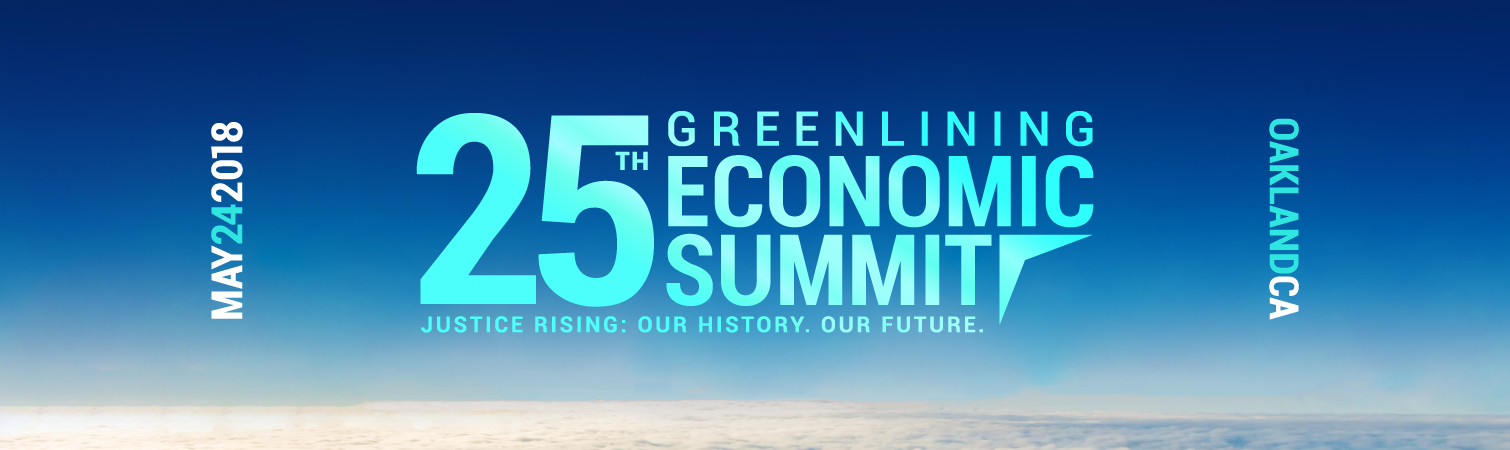 Greenlining Economic Summit
