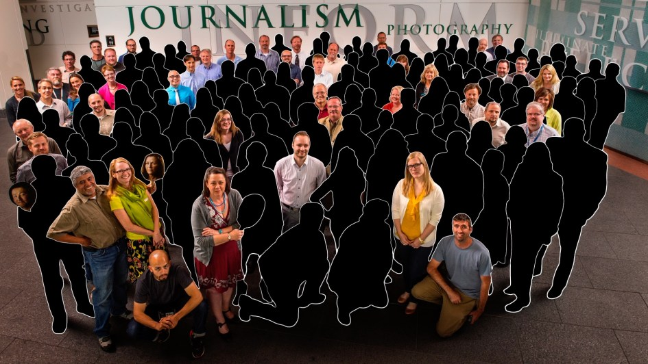 A decimated newsroom. Can the Denver Post do journalism without journalists?