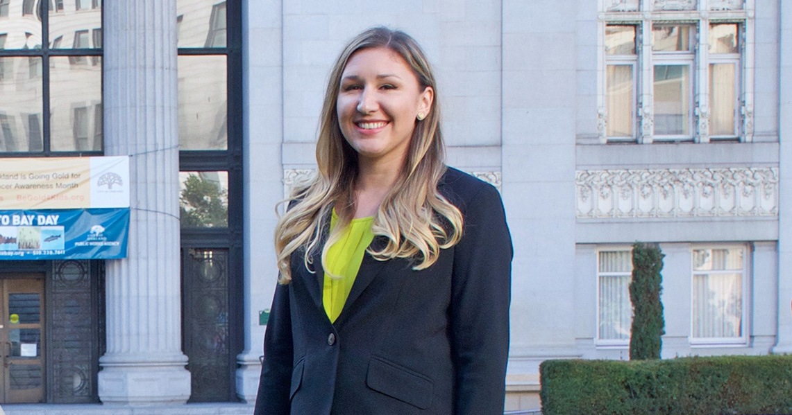 Jordyn Bishop, Environmental Equity Legal Fellow