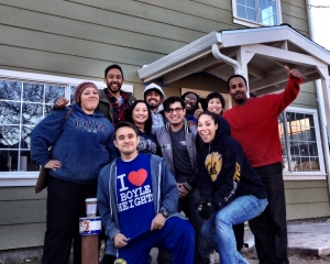 Greenlining Institute Leadership Academy Fellows renovate a home in Bay Point, CA with Habitat for Humanity
