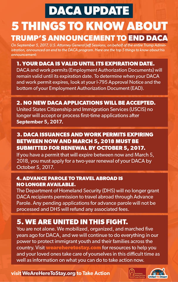5 Things to know about DACA