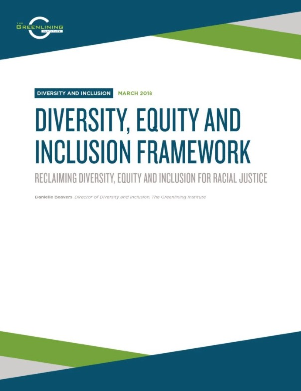 DEI Framework Cover