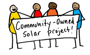 Community-owned solar a type of clean energy technology that can benefit communities