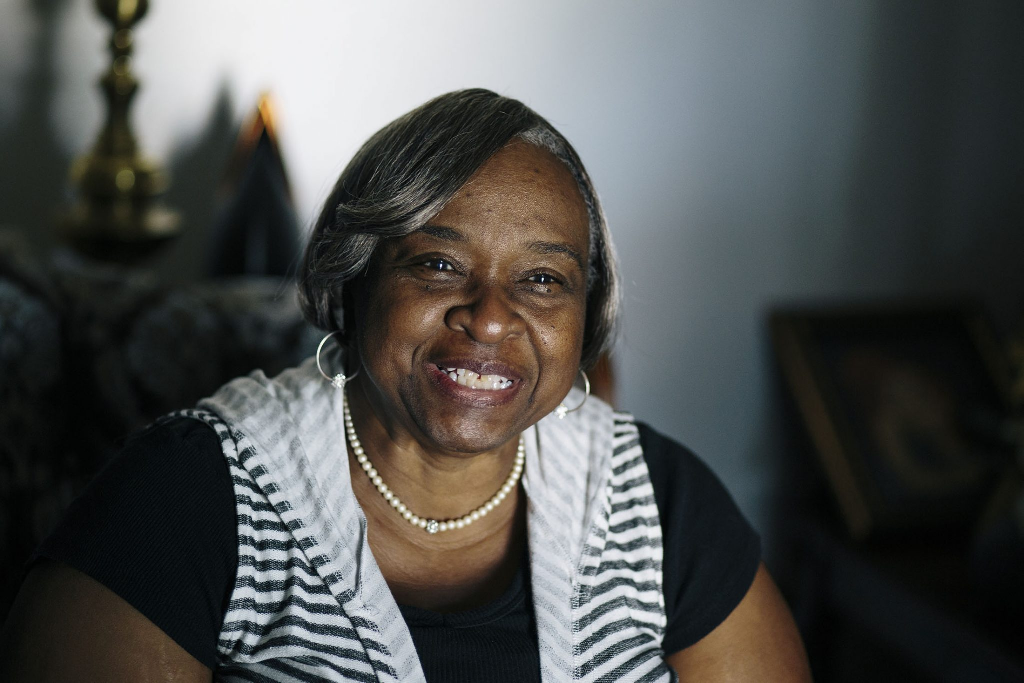 Lee Tidwell is a retired daycare owner who received an energy efficiency upgrade to her home in the Compton neighborhood of Los Angeles, which inluded a $3000 rebate. Tidwell used the money to pay for her daughter's wedding in Las Vegas.