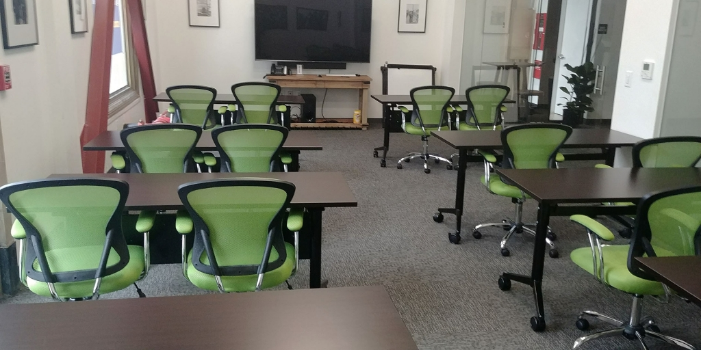 Classroom Configuration: Black Panther Room Rental