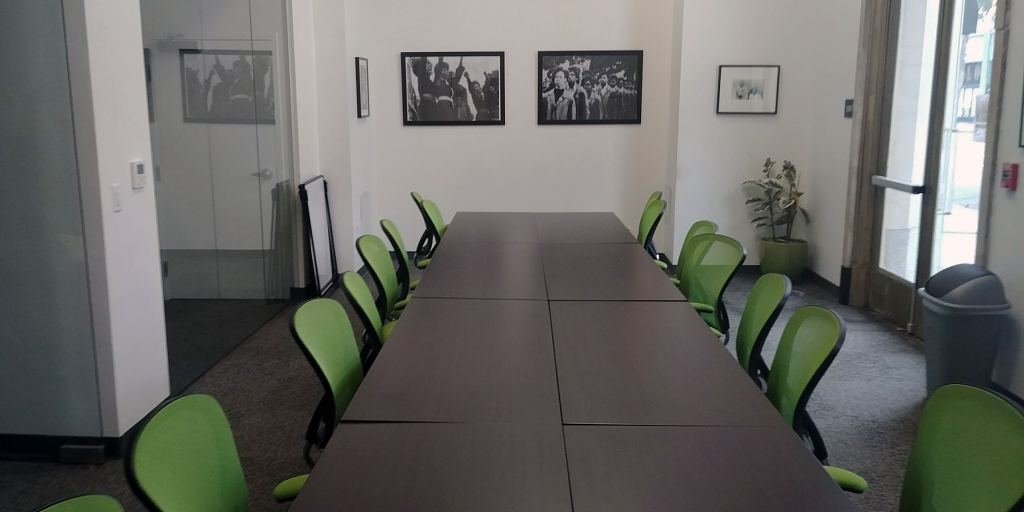 Conference Room Configuration: Black Panther Room Rental