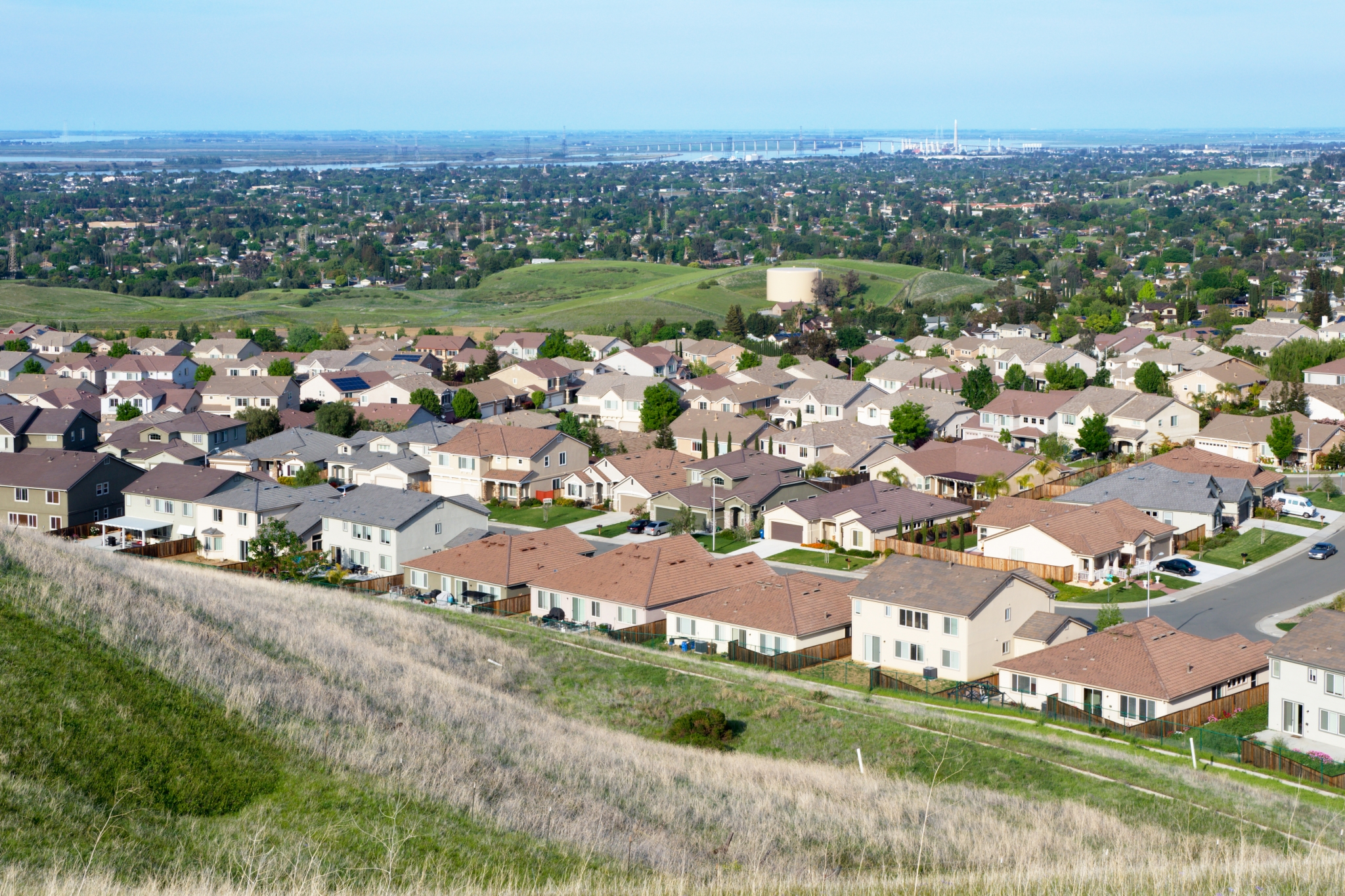 View of Antioch, CA.