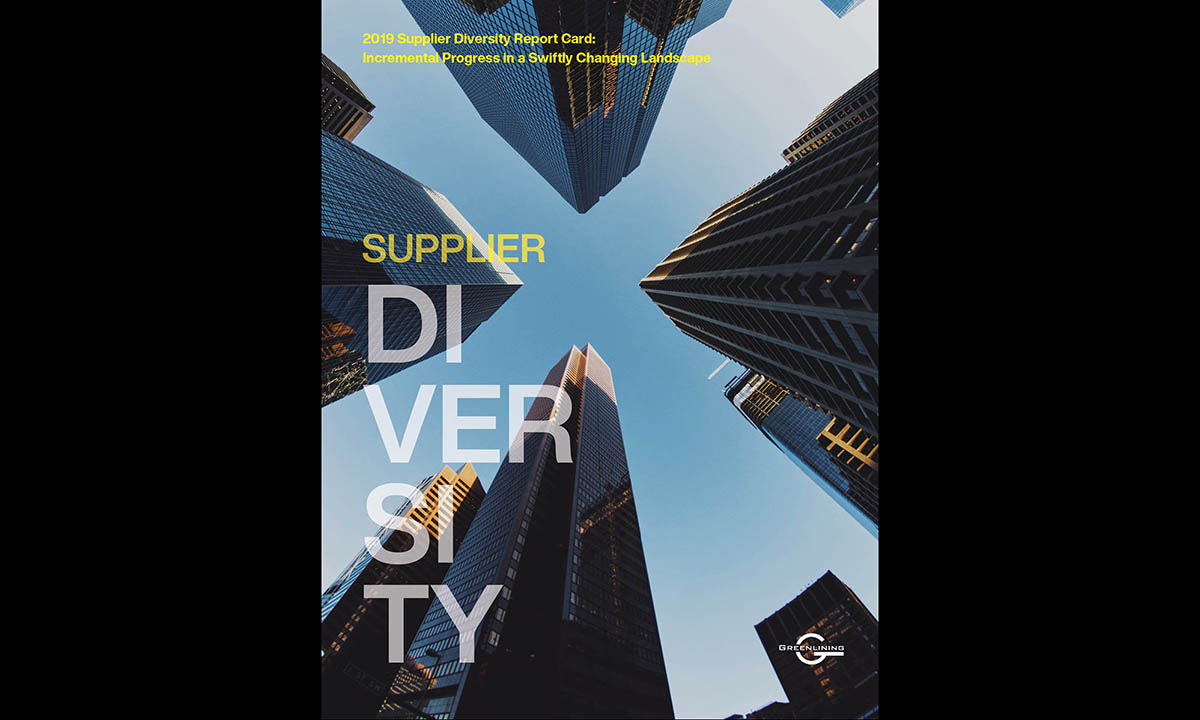 2019 Supplier Diversity Report Card