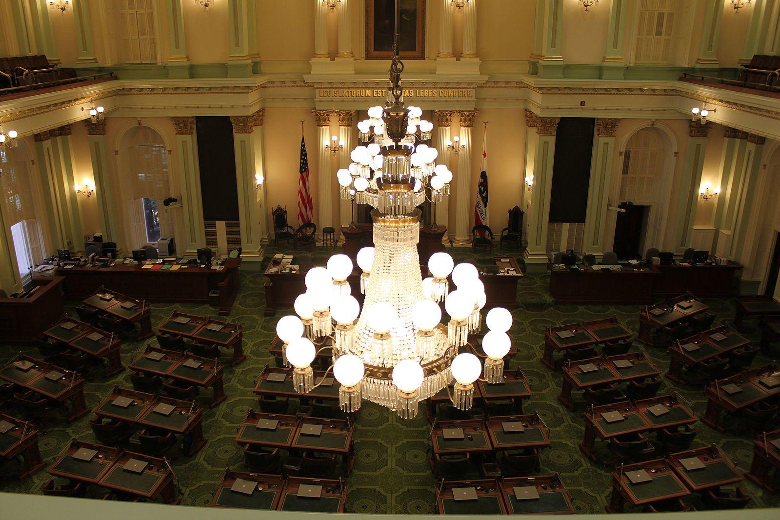 California General Assembly 2020 Coronavirus
