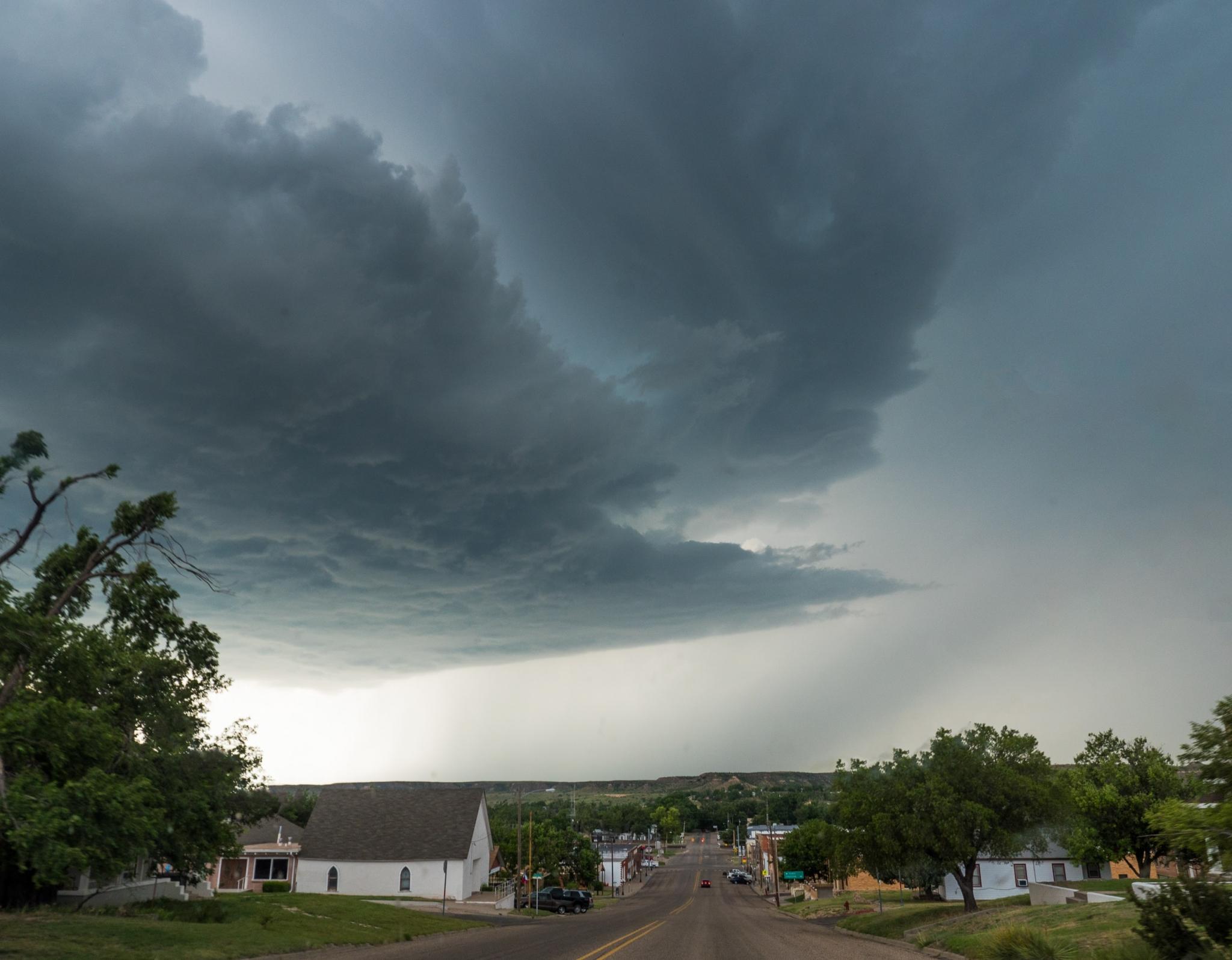 Thunderstorm in Texas