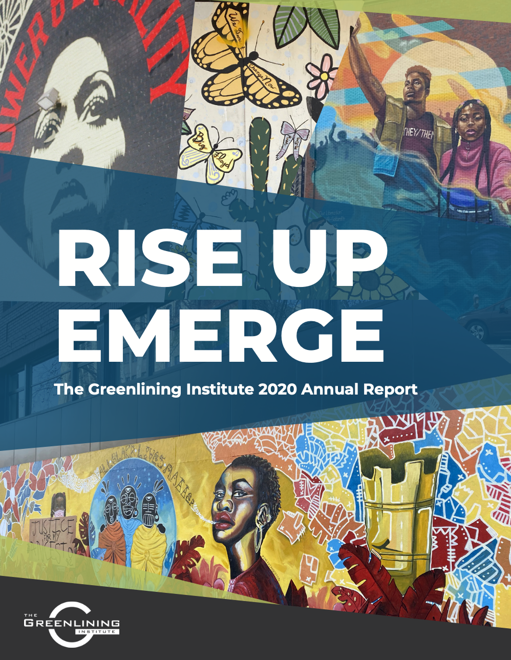 """""""Greenlining's 2020 Annual Report reviews a year of pain and hardship, but also groundbreaking strides flowing from years of working for racial justice. """""""